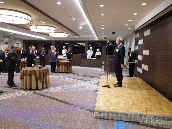 北里研究所との懇談会(2018)